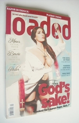 <!--2013-04-->Loaded magazine - Lucy Pinder cover (April 2013)