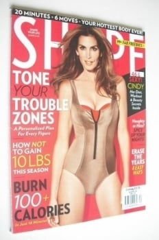 Shape magazine - December 2012 - Cindy Crawford cover