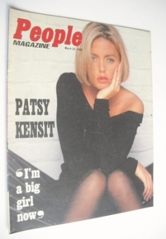 People magazine - 25 March 1990 - Patsy Kensit cover
