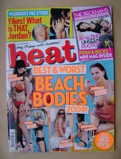<!--2009-07-04-->Heat magazine - Beach Bodies cover (4-10 July 2009 - Issue