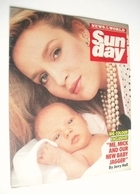 <!--1985-10-13-->Sunday magazine - 13 October 1985 - Jerry Hall cover