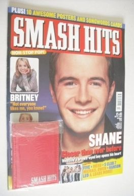 <!--2000-01-12-->Smash Hits magazine - Shane Filan cover (12 January 2000)