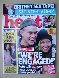 <!--2006-11-25-->Heat magazine - Pete Bennet and Cherry cover (25 November-