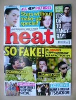 <!--2009-03-07-->Heat magazine - Jordan and Peter Andre cover (7-13 March 2009 - Issue 516)