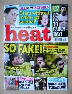 <!--2009-03-07-->Heat magazine - Jordan and Peter Andre cover (7-13 March 2