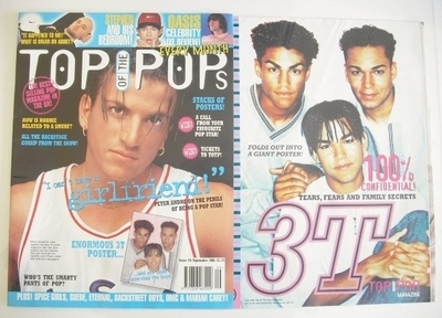 <!--1996-09-->Top Of The Pops magazine - Peter Andre cover (September 1996)