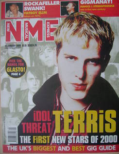 NME magazine - Gavin Goodwin cover (15 January 2000)