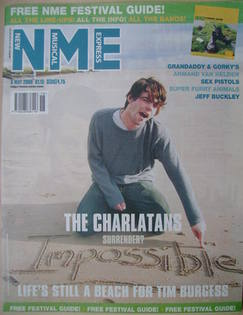 <!--2000-05-06-->NME magazine - Tim Burgess cover (6 May 2000)