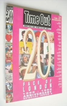 Time Out magazine - Face Of London cover (19-26 October 1988)