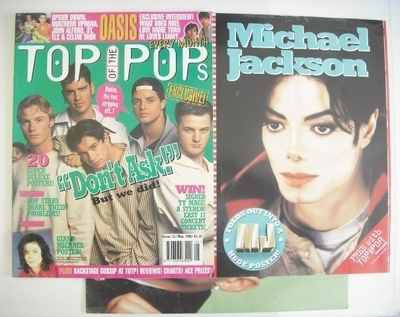 <!--1996-05-->Top Of The Pops magazine - Boyzone cover (May 1996)