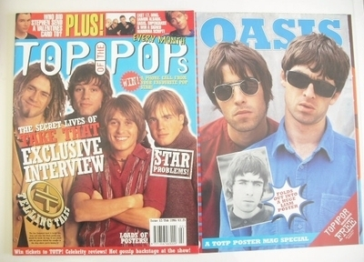 <!--1996-02-->Top Of The Pops magazine - Take That cover (February 1996)