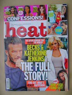 <!--2012-09-01-->Heat magazine - David Beckham / Katherine Jenkins cover (1