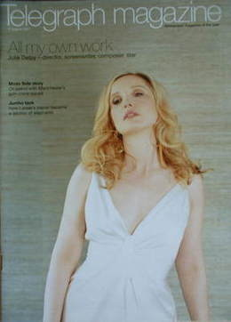 <!--2007-08-11-->Telegraph magazine - Julie Delpy cover (11 August 2007)