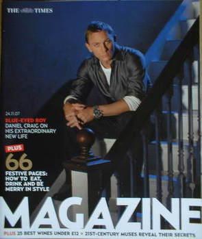 <!--2007-11-24-->The Times magazine - Daniel Craig cover (24 November 2007)