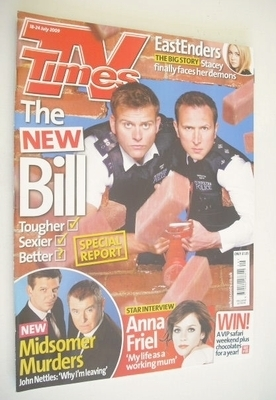 <!--2009-07-18-->TV Times magazine - Sam Callis and Alex Walkinshaw cover (