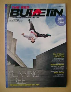 The Red Bulletin magazine - May 2011 - Ryan Doyle cover