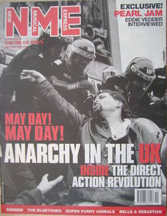 <!--2000-05-13-->NME magazine - Anarchy In The UK cover (13 May 2000)