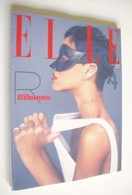 <!--2013-04-->British Elle magazine - April 2013 - Rihanna cover (Subscribe
