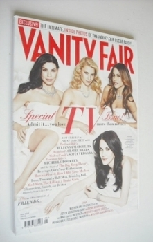 Vanity Fair magazine - Julianna Margulies, Claire Danes, Sofia Vergara, Michelle Dockery cover (May 2012)
