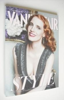 Vanity Fair magazine - Jessica Chastain cover (September 2012)