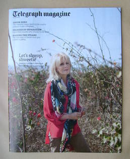 <!--2013-04-20-->Telegraph magazine - Joanna Lumley cover (20 April 2013)
