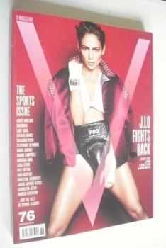 V magazine - Spring 2012 - Jennifer Lopez cover