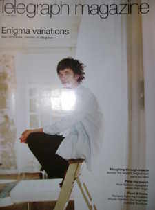 <!--2008-06-21-->Telegraph magazine - Ben Whishaw cover (21 June 2008)