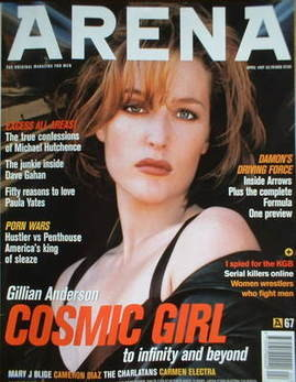 <!--1997-04-->Arena magazine - April 1997 - Gillian Anderson cover