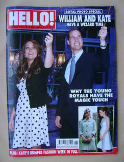 <!--2013-05-06-->Hello! magazine - Prince William and Kate Middleton cover