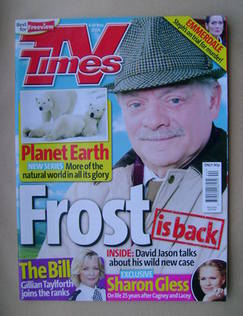<!--2006-11-04-->TV Times magazine - David Jason cover (4-10 November 2006)