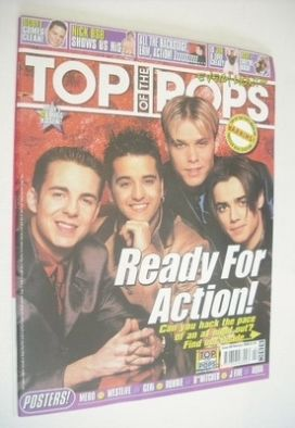 <!--2000-02-->Top Of The Pops magazine - A1 cover (February 2000)