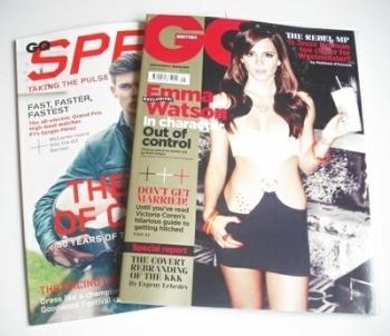 British GQ magazine - May 2013 - Emma Watson cover