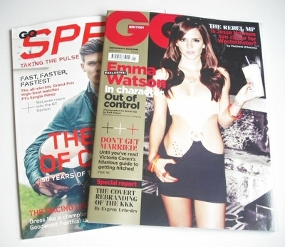 <!--2013-05-->British GQ magazine - May 2013 - Emma Watson cover