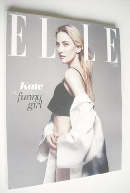 <!--2013-05-->British Elle magazine - May 2013 - Kate Hudson cover (Subscri