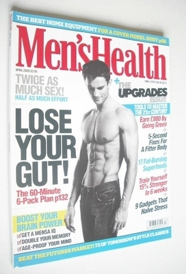 <!--2009-04-->British Men's Health magazine - April 2009 - Peter Sheath cov