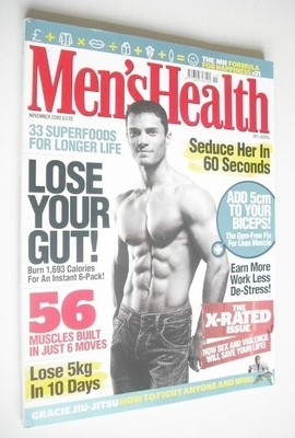 <!--2009-11-->British Men's Health magazine - November 2009 - Michal Gronow