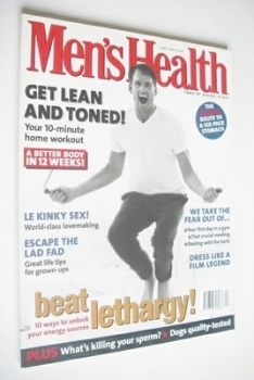 British Men's Health magazine - April 1997