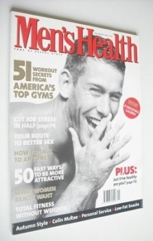 British Men's Health magazine - November 1996 - Oliver Lange cover