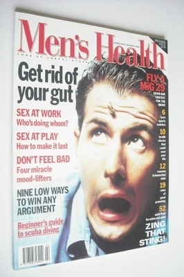 <!--1995-02-->British Men's Health magazine - February/March 1995 (Issue 1)