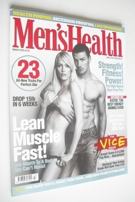 <!--2009-03-->British Men's Health magazine - March 2009