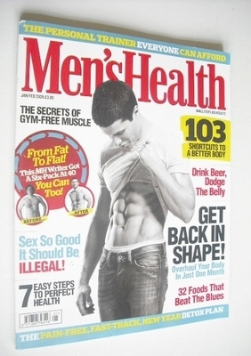 <!--2009-01-->British Men's Health magazine - January/February 2009 - Lee P