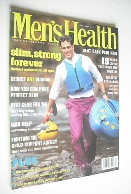 <!--1996-04-->British Men's Health magazine - April 1996