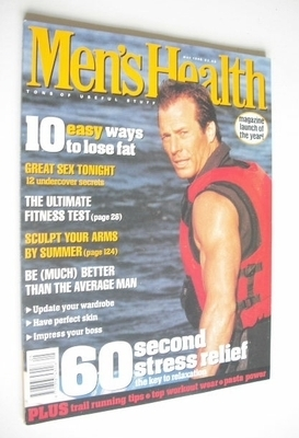 <!--1996-05-->British Men's Health magazine - May 1996
