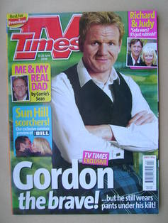 <!--2006-06-17-->TV Times magazine - Gordon Ramsay cover (17-23 June 2006)