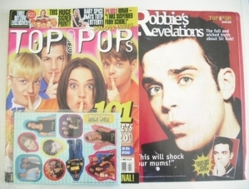 Top Of The Pops magazine - Pop Secrets cover (April 1997)