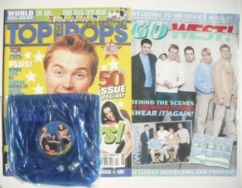 Top Of The Pops magazine - Ronan Keating cover (April 1999)