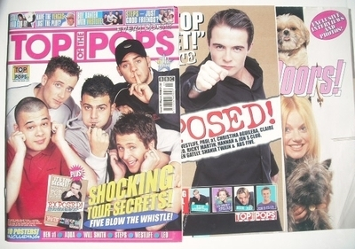 <!--2000-03-->Top Of The Pops magazine - Five cover (March 2000)