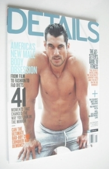 Details magazine - November 2011 - David Gandy cover