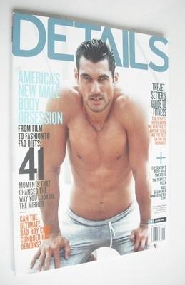 <!--2011-11-->Details magazine - November 2011 - David Gandy cover