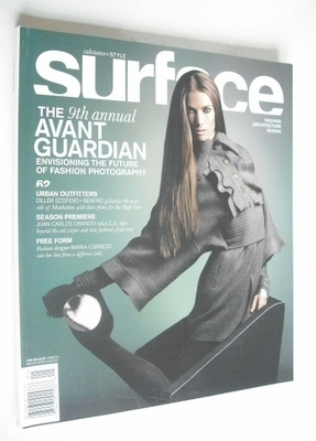 <!--0062-->Surface magazine - Issue 62 - Jessica Miller cover